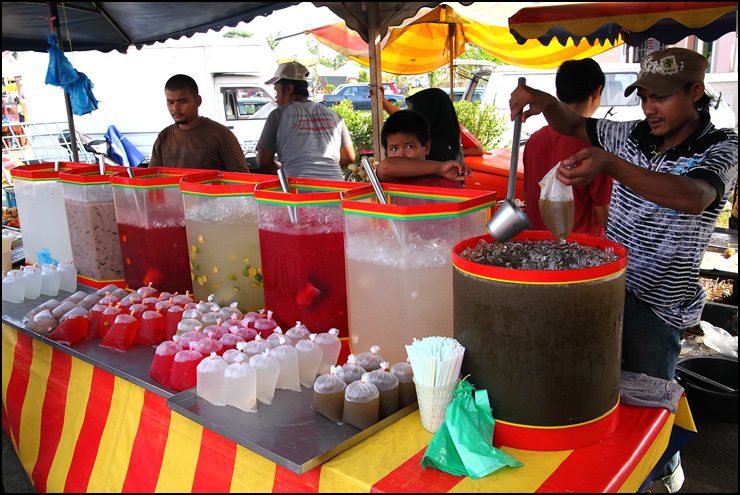 drinks stall