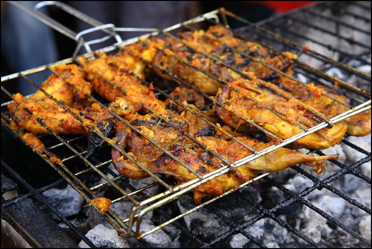 grill ayam percik