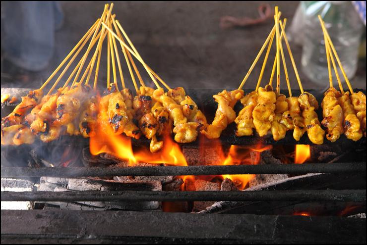 grill satay