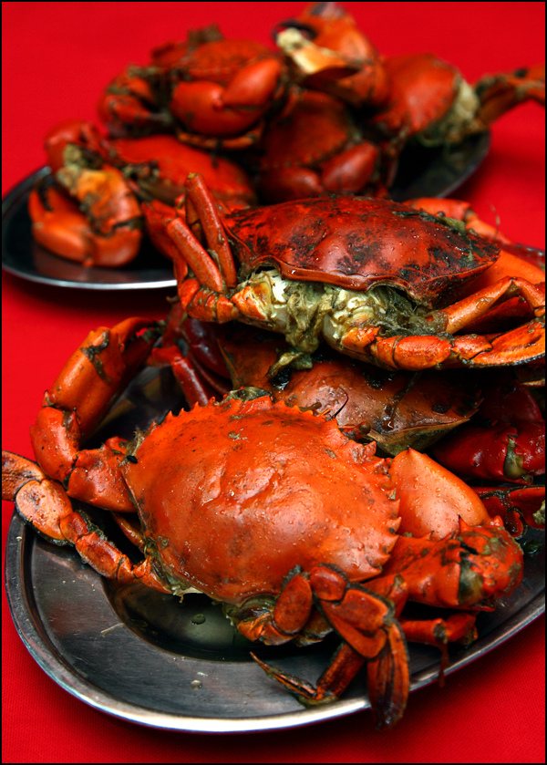 Seafood Baked Crabs