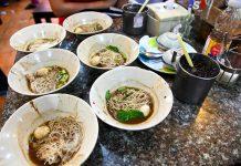 Victory Monument Boat Noodles Bangkok