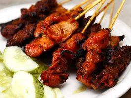 Satay Sri Melaka Chicken Beef Satay