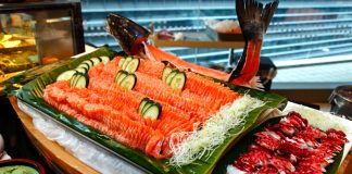 Latest Recipe Meridien Buffet Salmon Sashimi