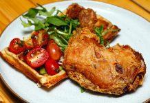 Thirdwave Fried Chicken Waffle