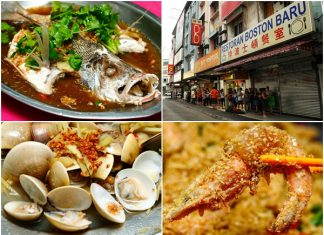 Boston Baru Seafood Restaurant Klang