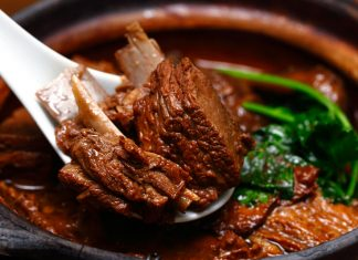 Claypot Braised Lamb with Beancurd Tzuk Sheng Lao