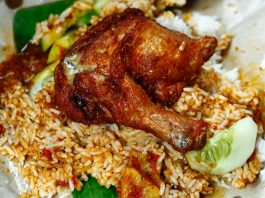 Nasi Kukus Ayam Dara Berempah Damansara Kim