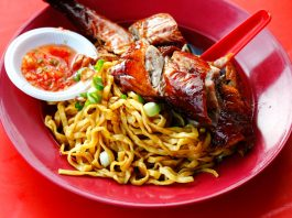 Roast Duck Hakka Mee Kepong