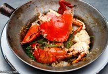 Pu Ob Woon Sen Bangkok Baked Crab Glass Noodle