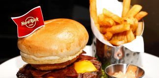 Hard Rock Cafe KL Original Legendary Burger