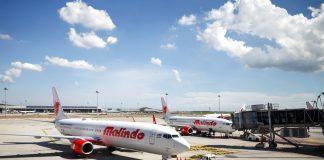 Malindo Air economy class flight KLIA Bangkok