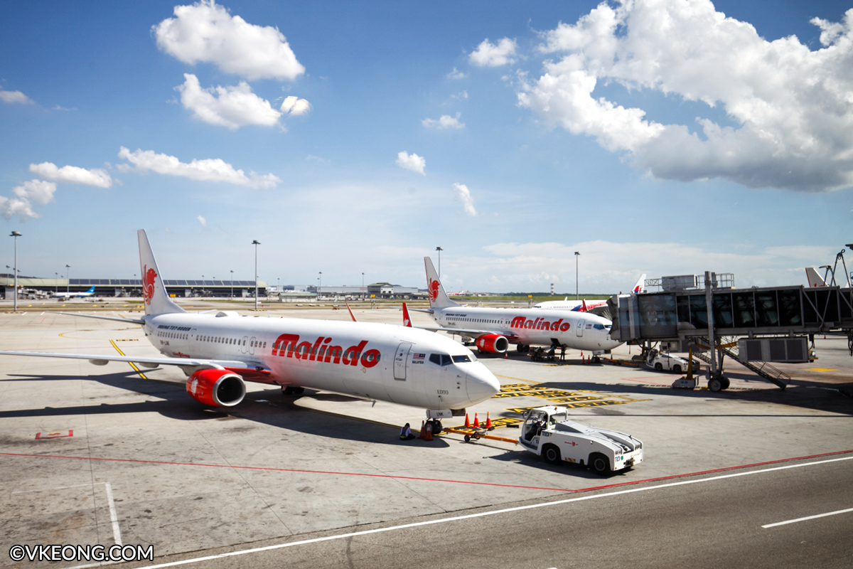 malindo airline services entering the airline
