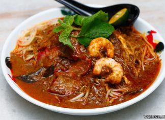 Nam Chau White Coffee Sunway Nexis Dry Curry Mee PJ