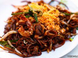 salted egg char koay teow Pudu wai sek kai