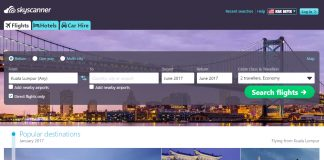 Skyscanner Malaysia book and compare flights hotels