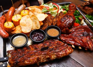 Morganfield's Jolly Christmas Platter Christmas Specials
