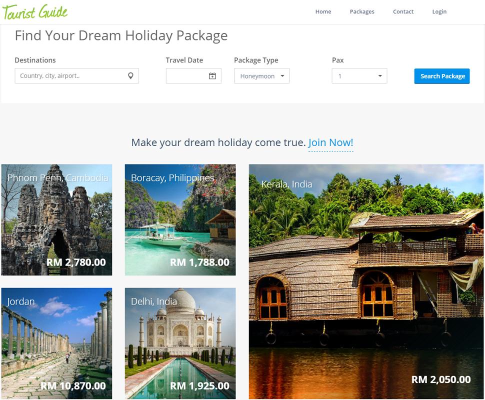 touristguide-website