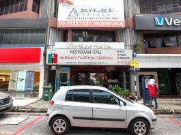 Antonio's Trattori Calabria TTDI - worst Itlalian restaurant in KL