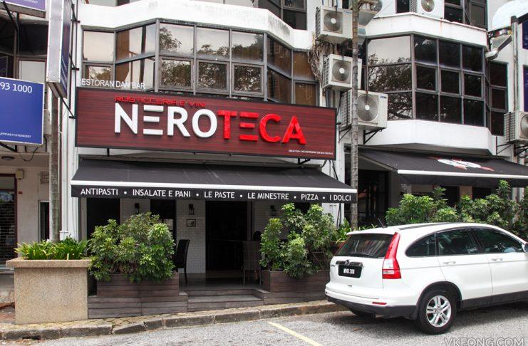 Neroteca Italian Restaurant Plaza Damansara