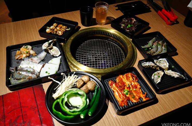 KG Korean Charcoal BBQ Buffet Da Men USJ
