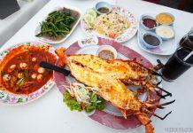 Hua Hin Night Market Lobster Dinner