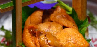ISHIN Japanese Dining Special Sea Urchin Menu