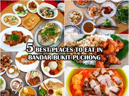 Restaurants and Food to Eat in Bandar Bukit Puchong