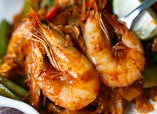 Penang Mee Udang Restoran Terapung Pulau Aman
