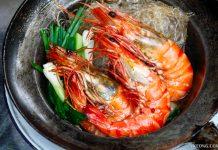 Somsak Pu Ob Crab Prawn Glass Noodle Bangkok