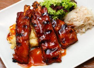 Eighty9 Restaurant BBQ Ribs