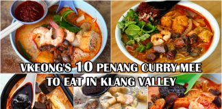 penang curry mee to eat in KL