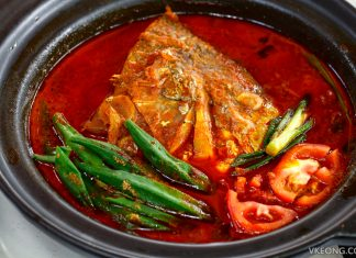 De Pauh Garden Fish Head Curry
