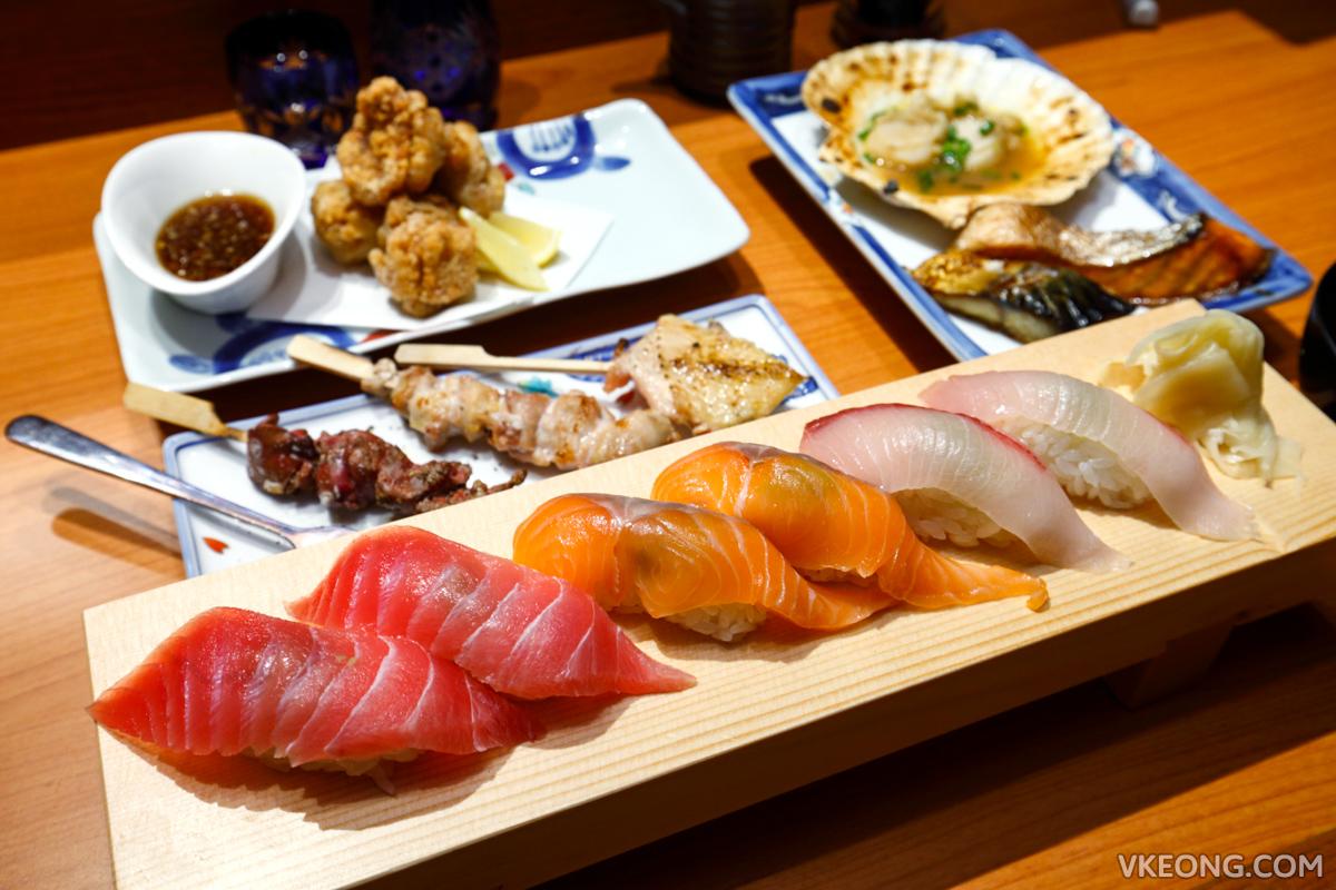 Touan yakitori robata the table isetan the japan store kl for Japanese eating table