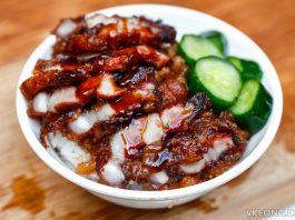 Braised Pork Rice with Pork Belly at Taiwan Braised Pork Rice Festival 2017