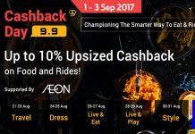 ShopBack Malaysia 9.9 Upsized Cashback Campaign