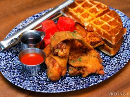 The Bird Fried Chicken Waffles Marina Bay Sands