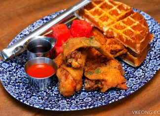 The Bird Fried Chicken Waffles Marina Bay Sands