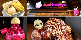 Justberrys Dessert House Melaka
