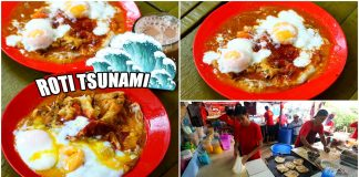 Roti-Tsunami-Roti-Canai-Pak-Ali-Pantai Dalam Bangsar KL