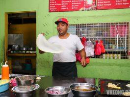 Roti Canai Roti-Terbang-Melaka-Kampung-Enam-Mezan