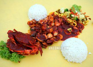 Seafood-Lambak Selera Kita-Shellout Ujong Pasir Melaka