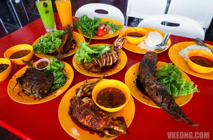Grilled-Seafood-Bawal-Power-Sempoi-Cyberjaya