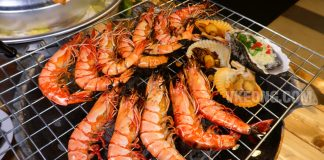 Talaykrata-Seafood-BBQ-Publika Catch and Cook Live Tiger-Prawns