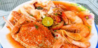 Pak-Tam-Mee-Seafood-Penang By The Beach Teluk Kumbar