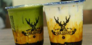 The Alley Fresh Brown Sugar Deerioca Milk
