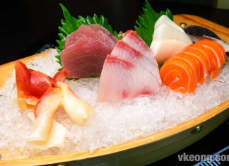 Iketeru The Hungry Deal Japanese Buffeet Hilton KL with Menu